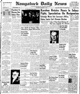 Naugatuck Daily News from Naugatuck, Connecticut on January 16, 1947 · Page 1