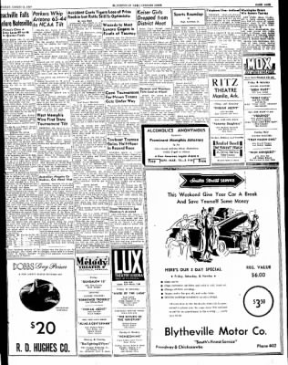 The Courier News from Blytheville, Arkansas on March 11, 1949 · Page 9
