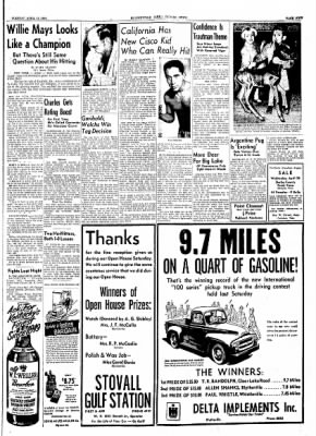 The Courier News from Blytheville, Arkansas on April 13, 1954 · Page 9