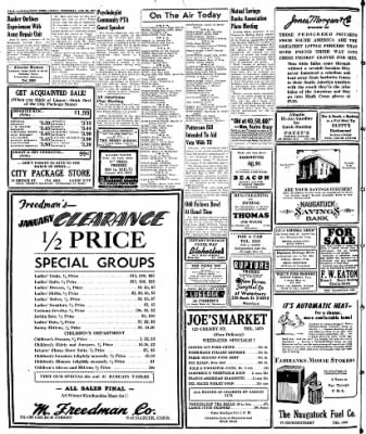 Naugatuck Daily News from Naugatuck, Connecticut on January 23, 1947 · Page 8
