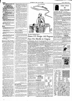 The Courier News from Blytheville, Arkansas on April 16, 1954 · Page 6