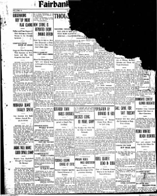 Fairbanks Daily Times from Fairbanks, Alaska on June 15, 1912 · Page 1