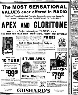 Decatur Evening Herald from Decatur, Illinois on August 6, 1931 · Page 8