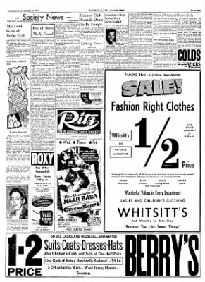 The Courier News from Blytheville, Arkansas on December 29, 1954 · Page 5