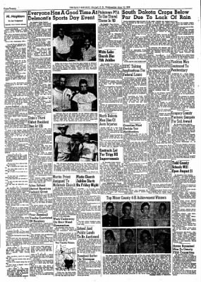 The Daily Republic from Mitchell, South Dakota on August 19, 1959 · Page 19