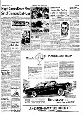 The Courier News from Blytheville, Arkansas on May 19, 1954 · Page 9
