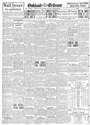 Oakland Tribune from Oakland, California on March 10, 1935 · Page 7