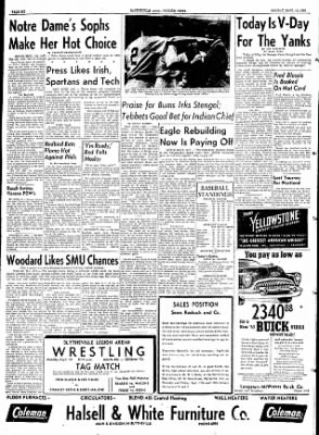 The Courier News from Blytheville, Arkansas on September 14, 1953 · Page 6