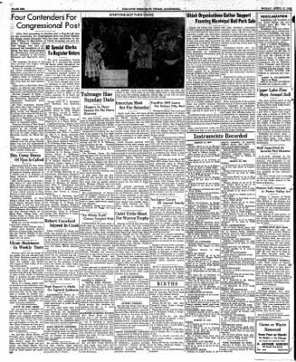 Ukiah Dispatch Democrat from Ukiah, California on April 2, 1948 · Page 6