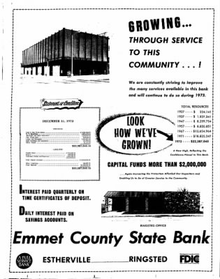 Estherville Daily News from Estherville, Iowa on January 10, 1973 · Page 12