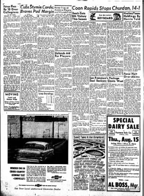 Carrol Daily Times Herald from Carroll, Iowa on August 9, 1957 · Page 2