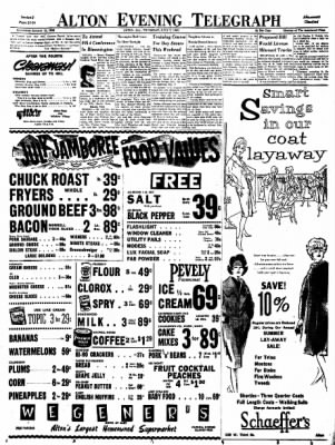 Alton Evening Telegraph from Alton, Illinois on July 7, 1960 · Page 21