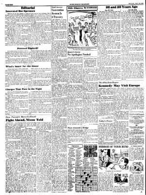 Alton Evening Telegraph from Alton, Illinois on July 18, 1960 · Page 4