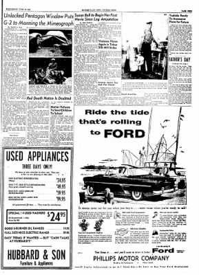 The Courier News from Blytheville, Arkansas on June 16, 1954 · Page 9