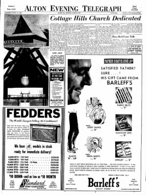 Alton Evening Telegraph from Alton, Illinois on June 10, 1963 · Page 13