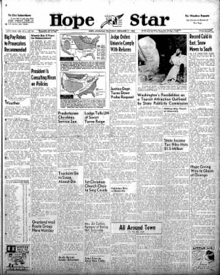 Hope Star from Hope, Arkansas on December 11, 1958 · Page 1