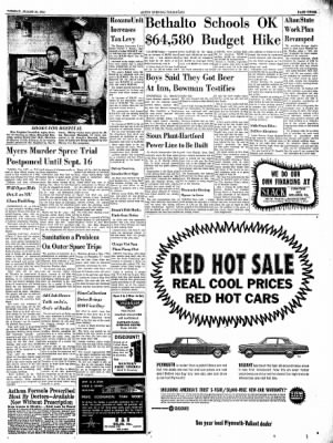 Alton Evening Telegraph from Alton, Illinois on August 20, 1963 · Page 3