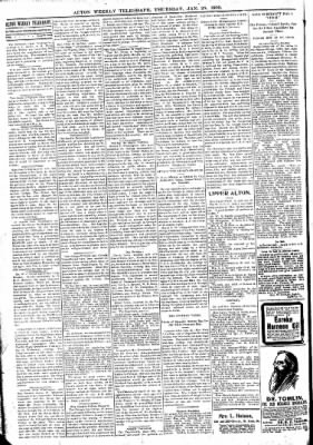 Alton Telegraph from Alton, Illinois on January 25, 1900 · Page 6