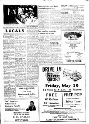 Fayette County Leader from Fayette, Iowa on May 11, 1961 · Page 7