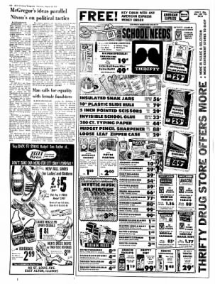 Alton Evening Telegraph from Alton, Illinois on August 24, 1972 · Page 7