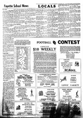 Fayette County Leader from Fayette, Iowa on September 28, 1961 · Page 4
