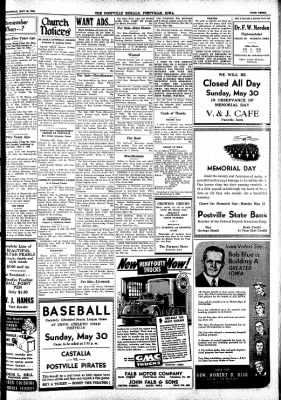 Postville Herald from Postville, Iowa on May 26, 1948 · Page 3