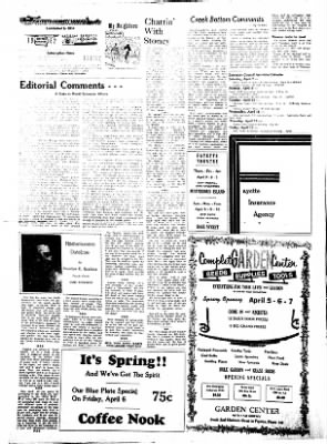 Fayette County Leader from Fayette, Iowa on April 5, 1962 · Page 2