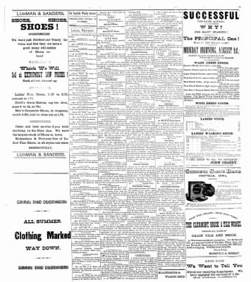 The Postville Review from Postville, Iowa on July 30, 1892 · Page 3
