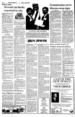 The Baytown Sun from Baytown, Texas on April 27, 1986 · Page 2