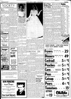Hope Star from Hope, Arkansas on June 26, 1961 · Page 3