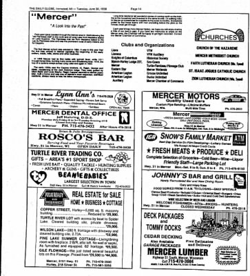 Ironwood Daily Globe from Ironwood, Michigan on June 30, 1998 · Page 13