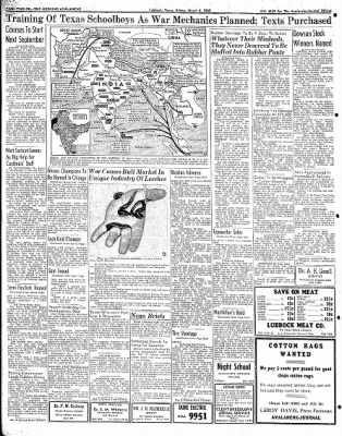 Lubbock Morning Avalanche from Lubbock, Texas on March 6, 1942 · Page 6