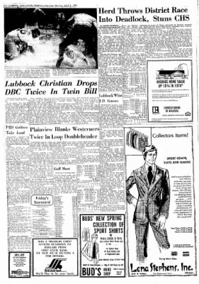 Lubbock Avalanche-Journal from Lubbock, Texas on April 5, 1975 · Page 16
