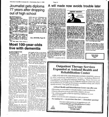 Ironwood Daily Globe from Ironwood, Michigan on September 2, 1998 · Page 13