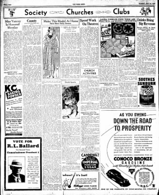 The Paris News from Paris, Texas on July 24, 1934 · Page 2