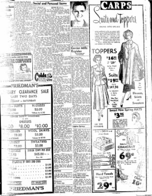 The Daily Register from Harrisburg, Illinois on January 29, 1948 · Page 3