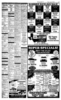 The Baytown Sun from Baytown, Texas on August 28, 1987 · Page 15