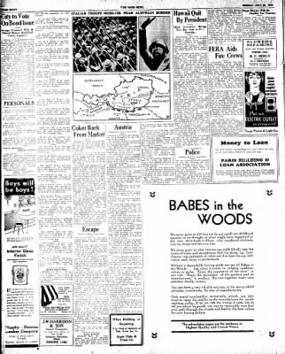 The Paris News from Paris, Texas on July 29, 1934 · Page 8
