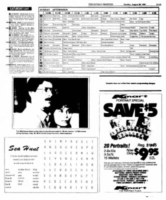 The Baytown Sun from Baytown, Texas on August 30, 1987 · Page 42