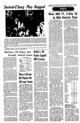 The Algona Upper Des Moines from Algona, Iowa on March 12, 1968 · Page 8