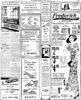 The News from Frederick, Maryland on June 3, 1932 · Page 9