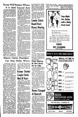 The Algona Upper Des Moines from Algona, Iowa on March 19, 1968 · Page 9