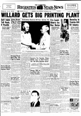 The Sandusky Register from Sandusky, Ohio on December 22, 1955 · Page 1