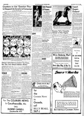The Courier News from Blytheville, Arkansas on July 17, 1954 · Page 8