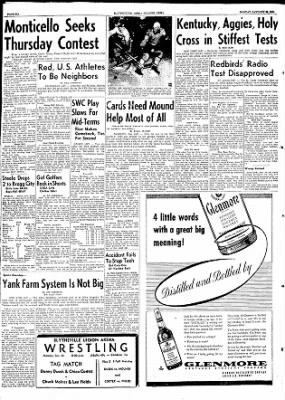 The Courier News from Blytheville, Arkansas on January 25, 1954 · Page 6