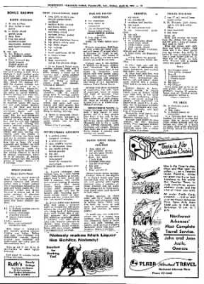 Northwest Arkansas Times from Fayetteville, Arkansas on April 26, 1974 · Page 53