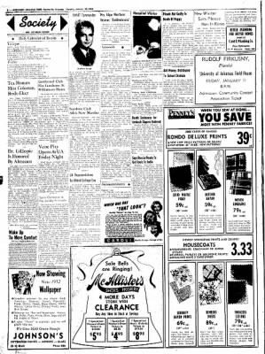 Northwest Arkansas Times from Fayetteville, Arkansas on January 10, 1952 · Page 2