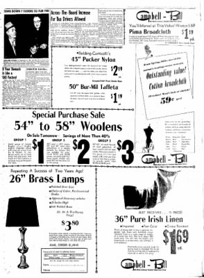 Northwest Arkansas Times from Fayetteville, Arkansas on February 4, 1952 · Page 3