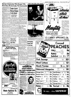 Northwest Arkansas Times from Fayetteville, Arkansas on February 4, 1952 · Page 7