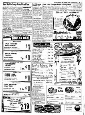 Northwest Arkansas Times from Fayetteville, Arkansas on February 21, 1952 · Page 7